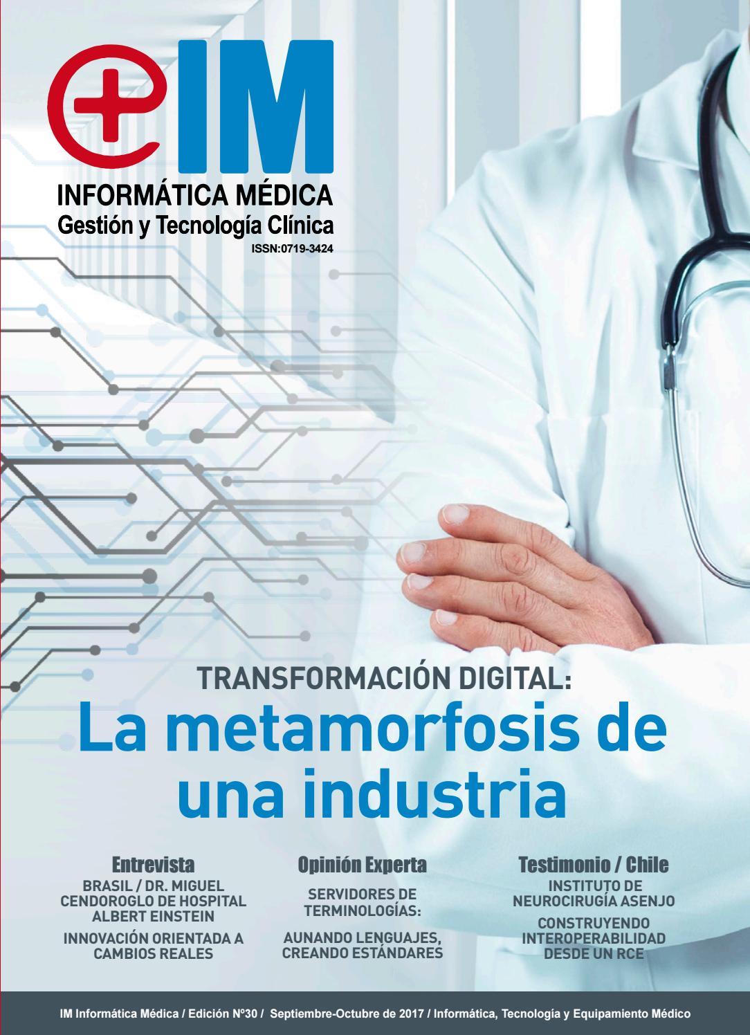 Revista informatica medica N° 30 Septiembre 2017 by Revista ...
