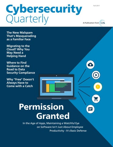 Cybersecurity Quarterly (Fall 2017) by Cybersecurity