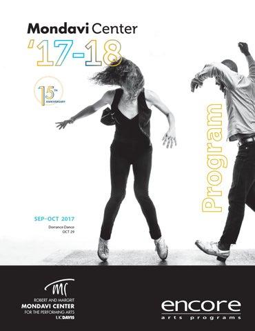 Mondavi Center - Sept-Oct 2017 Program by Robert and Margrit