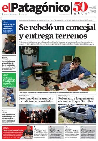 By Edicion223120092017 Issuu El pdf Patagonico ikuZOPXT