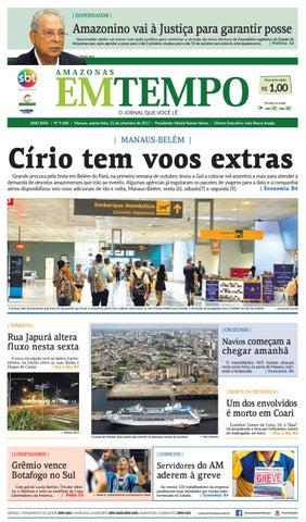EM TEMPO - 21 de Setembro de 2017 by Amazonas Em Tempo - issuu acb6a55db94