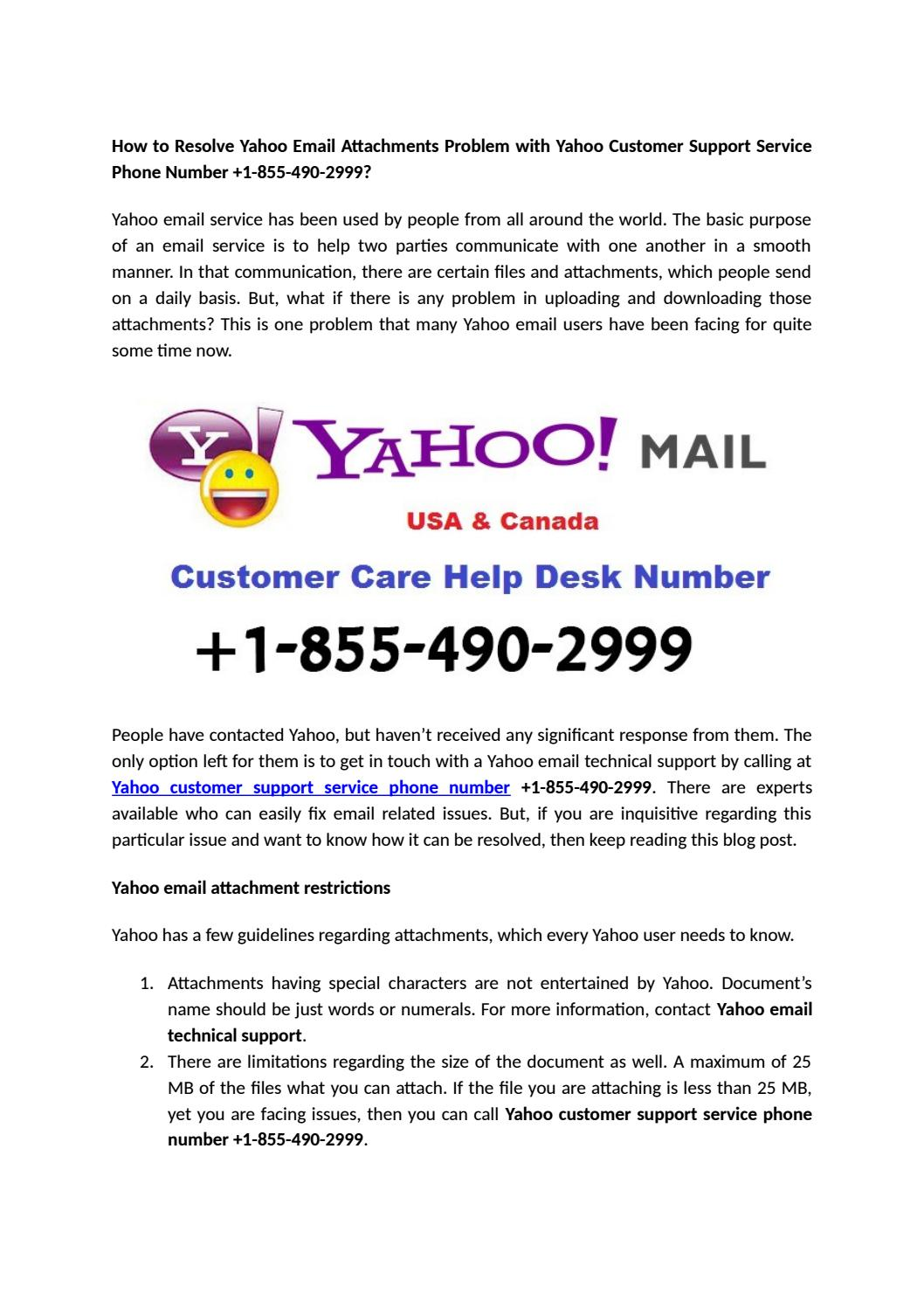 how to open attachments in yahoo mail