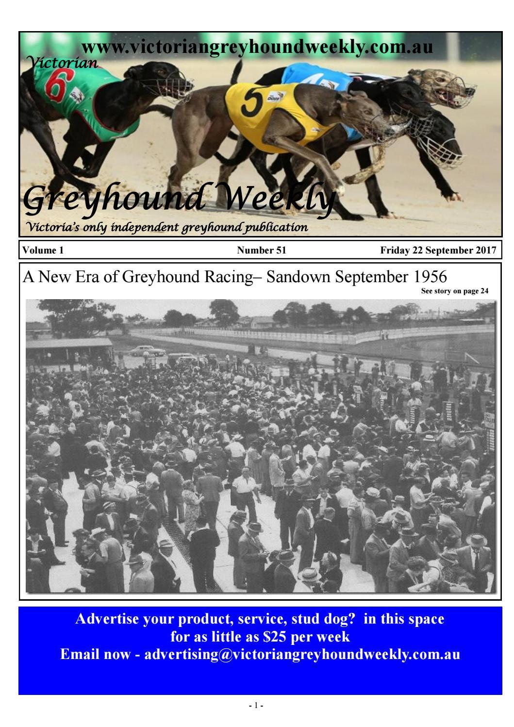 Greyhound weekly 51 september 22 by The Waterline News - issuu