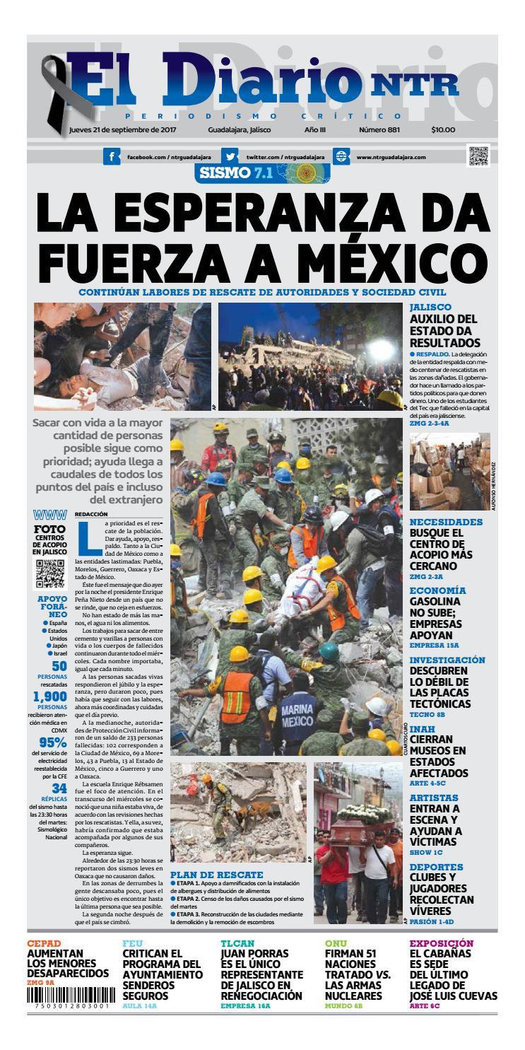 El Diario NTR 881 by NTR Guadalajara - issuu