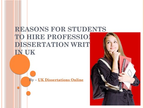 professional dissertation writers