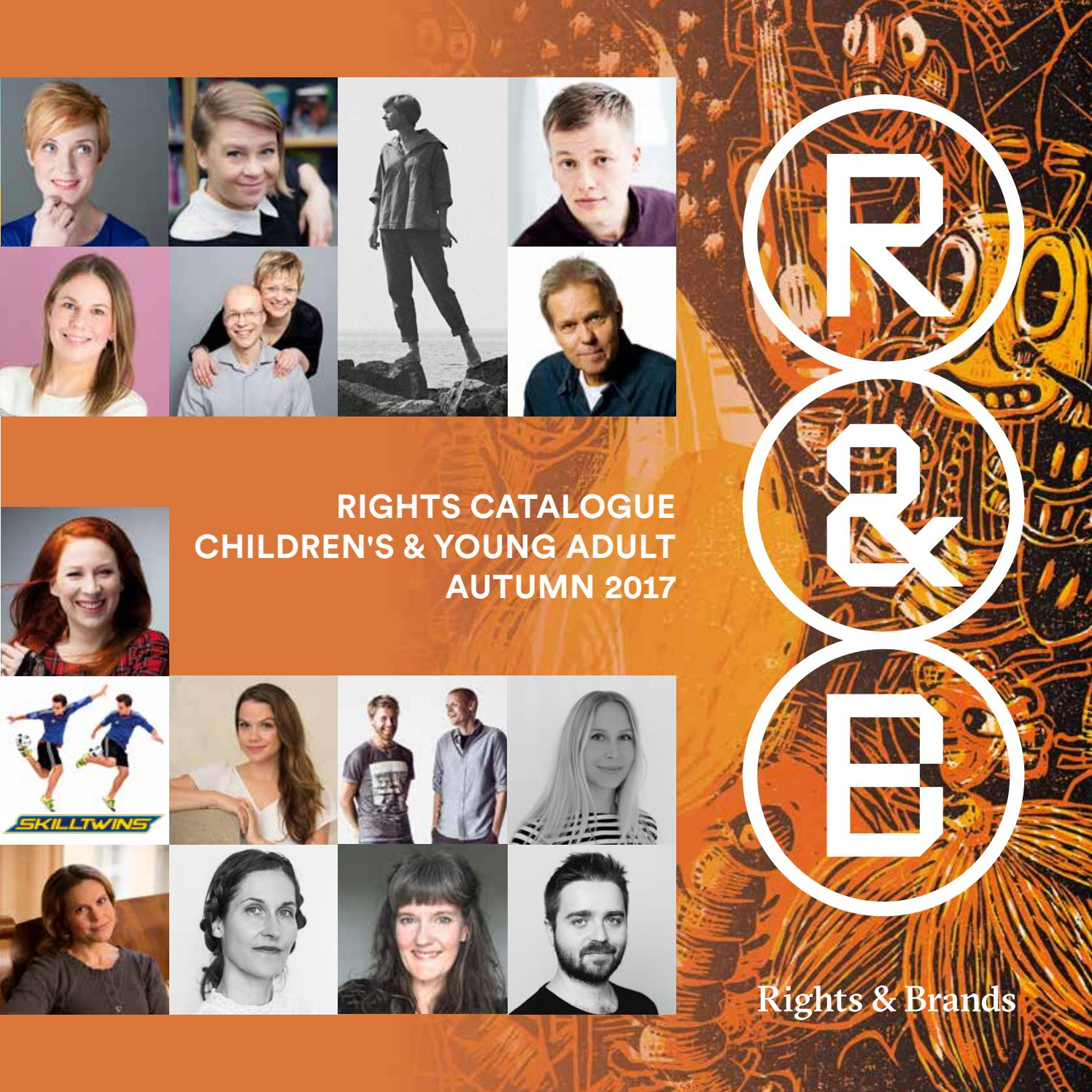 Rights & Brands Catalogue for Kids - Autumn 2017 by Rights & Brands