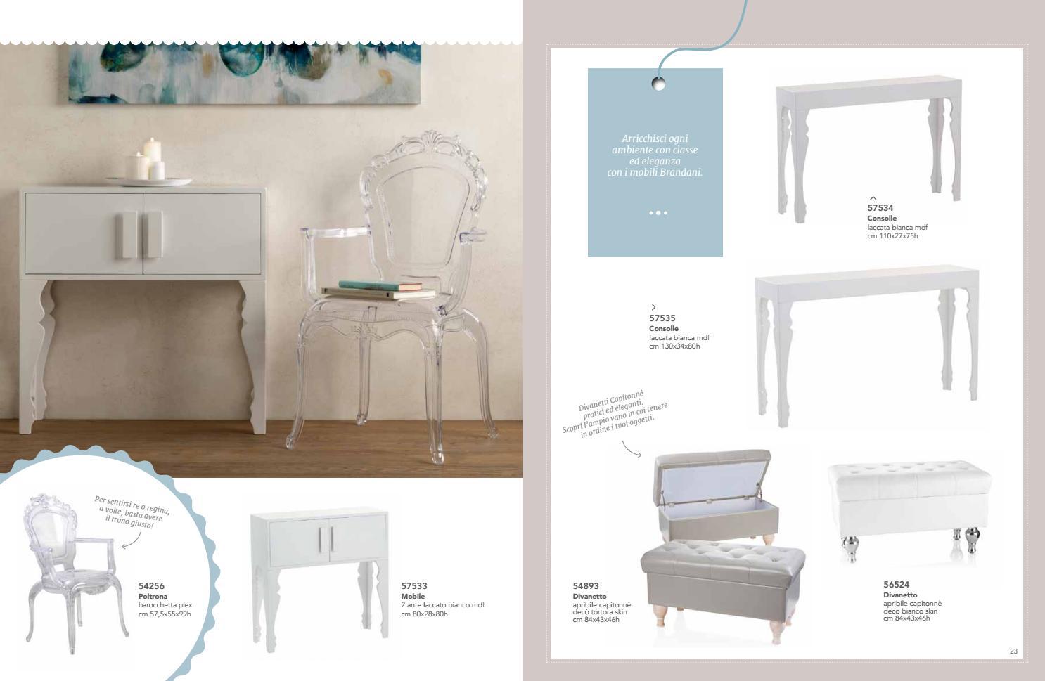 Consolle Bianca Brandani.Brandani Home Pagine Doppie By Brandani Gift Group Issuu