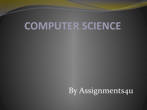 computer science assignment help by naven lewis issuu page 1 computer science