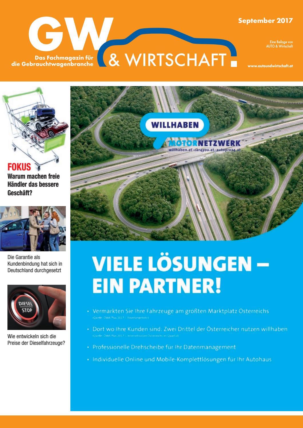 Gw Wirtschaft 092017 By Aw Verlag Gmbh Issuu