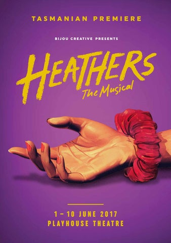 Heathers The Musical Program by Karen Kluss - issuu