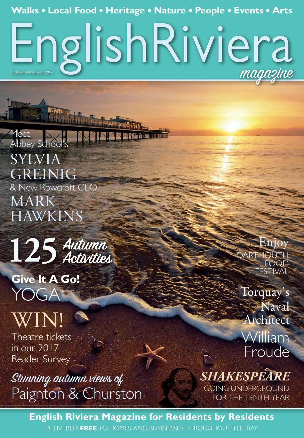 English Riviera Magazine Oct_Nov 17 Online by English