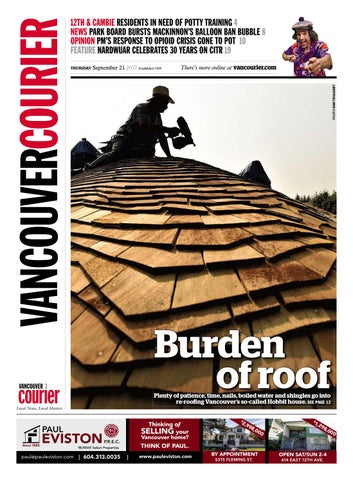 Vancouver courier september 21 2017 by vancouver courier issuu page 1 fandeluxe Choice Image