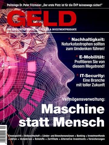 GELD-Magazin, September 2017 by 4profit Verlag GmbH - issuu