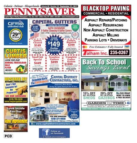 Colonie Delmar Slingerlands Pennysaver 092117 By Capital