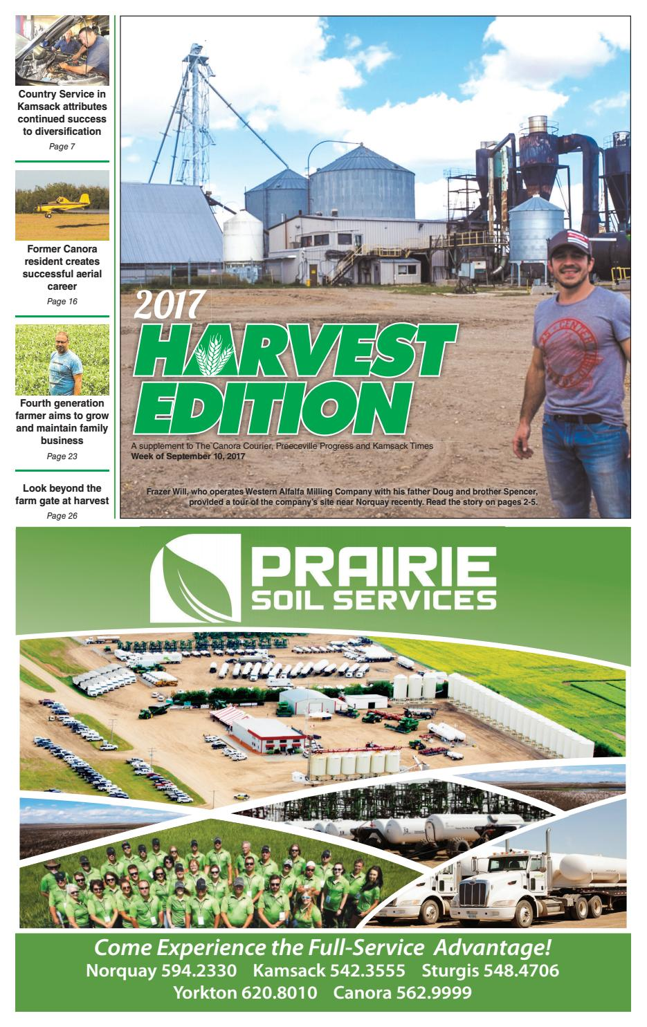 2017 harvest edition by canora courier issuu