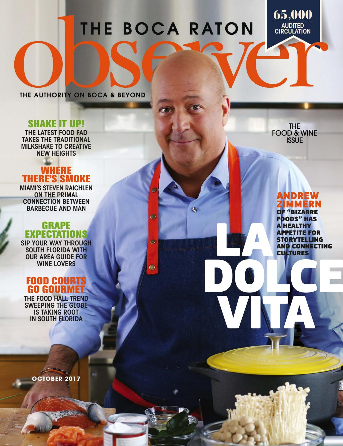 Boca Raton Observer Oct 2017 by Boca Raton Observer - issuu
