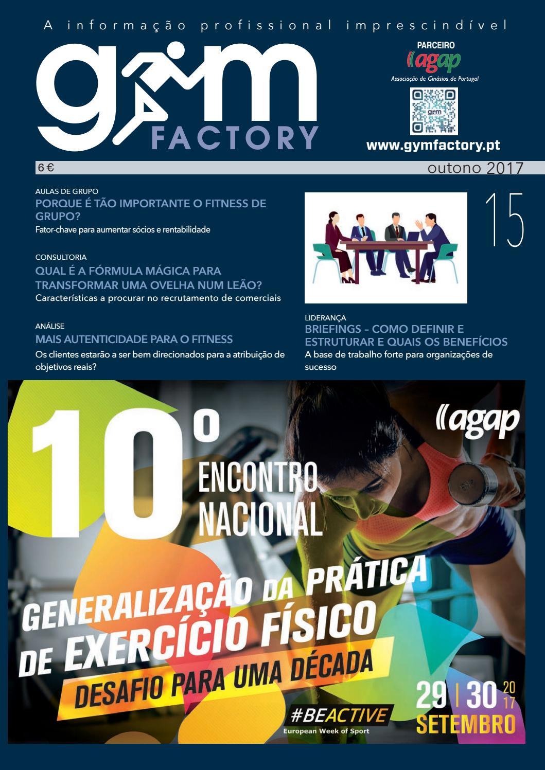 f8e7b097272 Gym Factory Gestão nº15 by Gym Factory Magazine - issuu