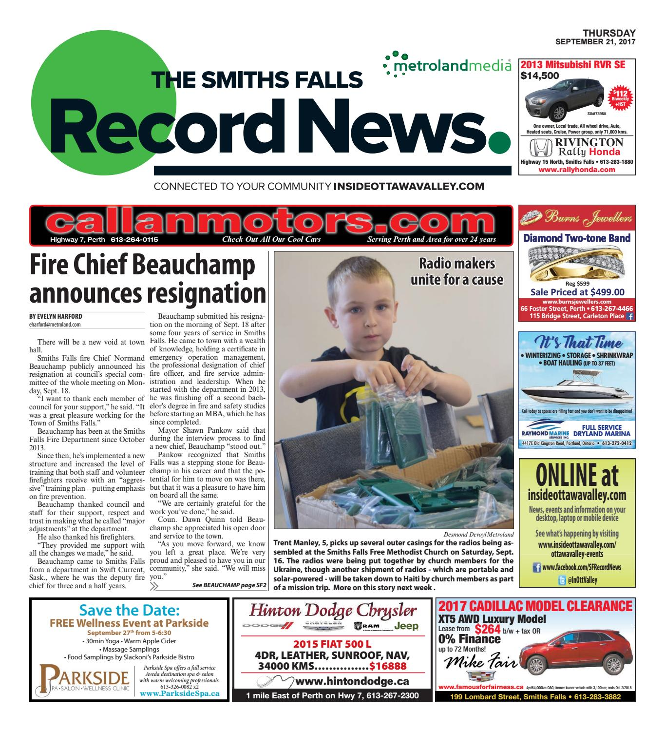 ff47d472c461 Smithsfalls092117 by Metroland East - Smiths Falls Record News - issuu