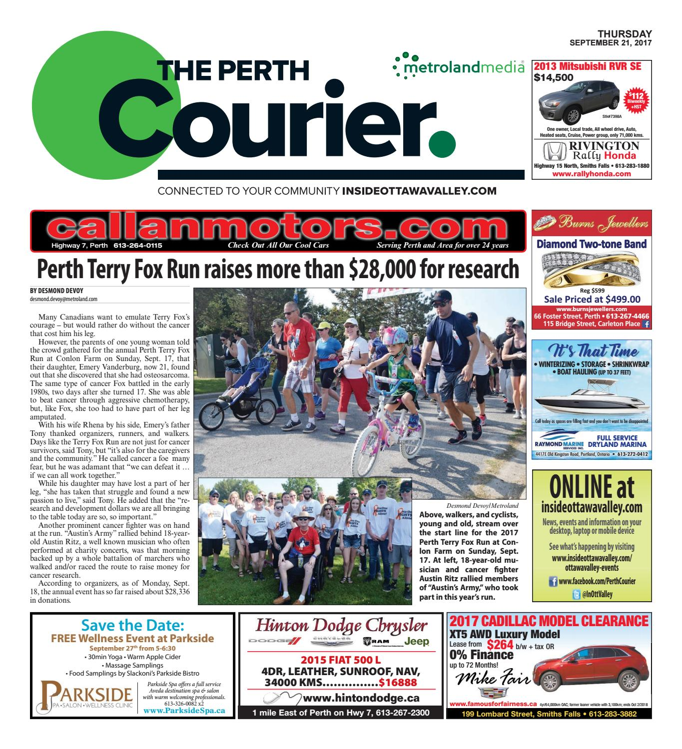 Perth092117 by metroland east the perth courier issuu fandeluxe Choice Image