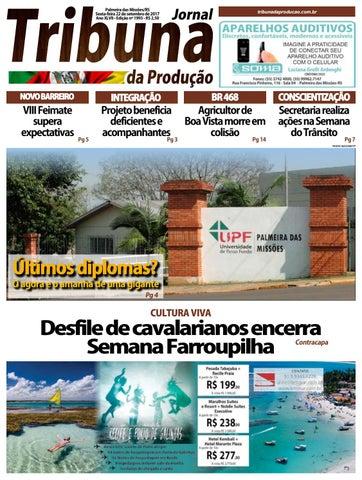 Edição 22 09 2017 by Tribuna da Produção Palmeira - issuu 97ad25b853172