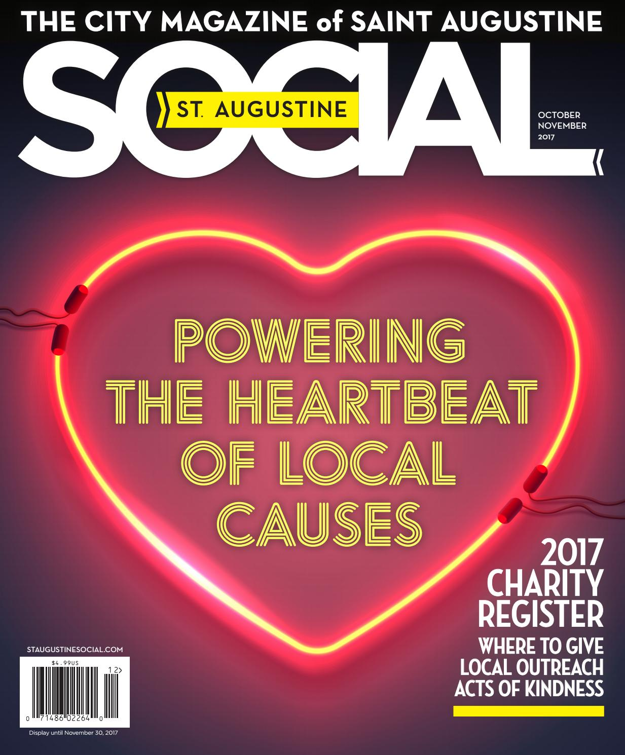 St  Augustine Social - Oct/Nov 2017 by Occasions Media Group - issuu