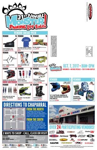 2017 Chaparral Motorsports Monster Parking Lot Sale Flyer by