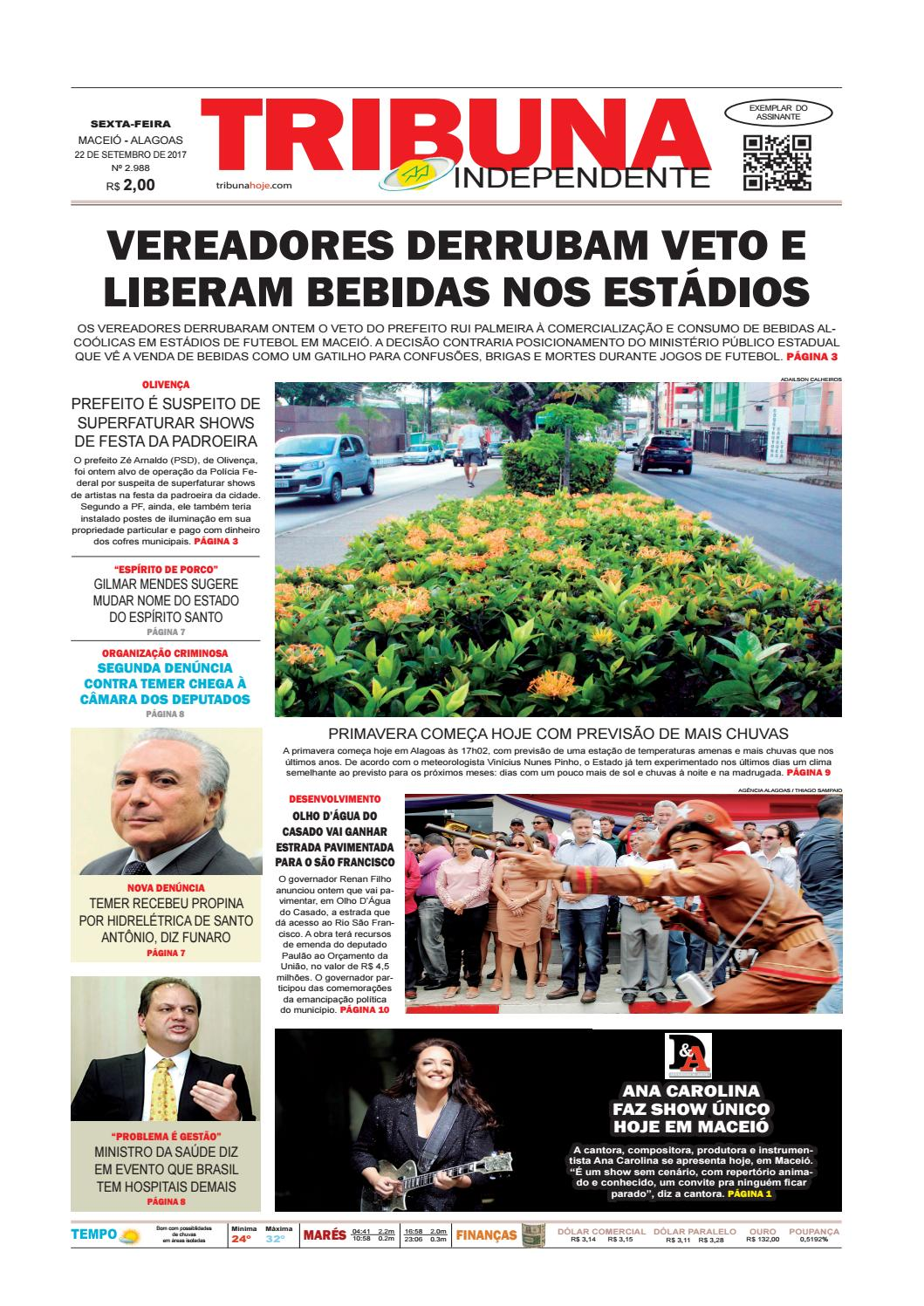 Edição número 2988 - 22 de setembro de 2017 by Tribuna Hoje - issuu 5beef686b6a04