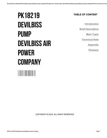 Honda wave dash service manual by isdaq922 issuu pk18219 devilbiss pump devilbiss air power company fandeluxe Gallery