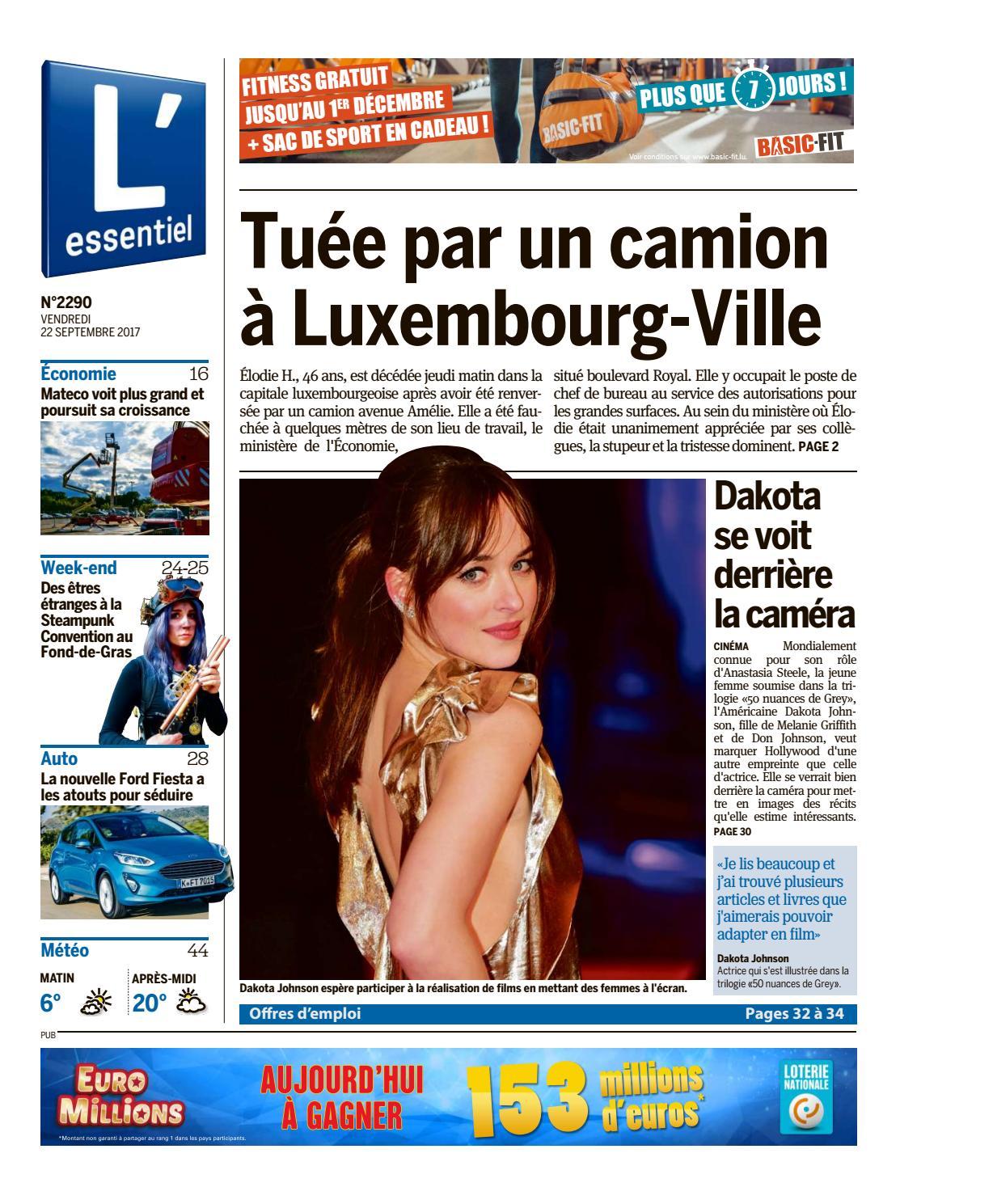 L'essentiel Issuu Epaper 2017 22 By 09 oexBCd