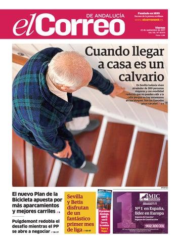 f75c1999a4 El Correo de Andalucía 22 09 2017 by EL CORREO DE ANDALUCÍA S.L. - issuu