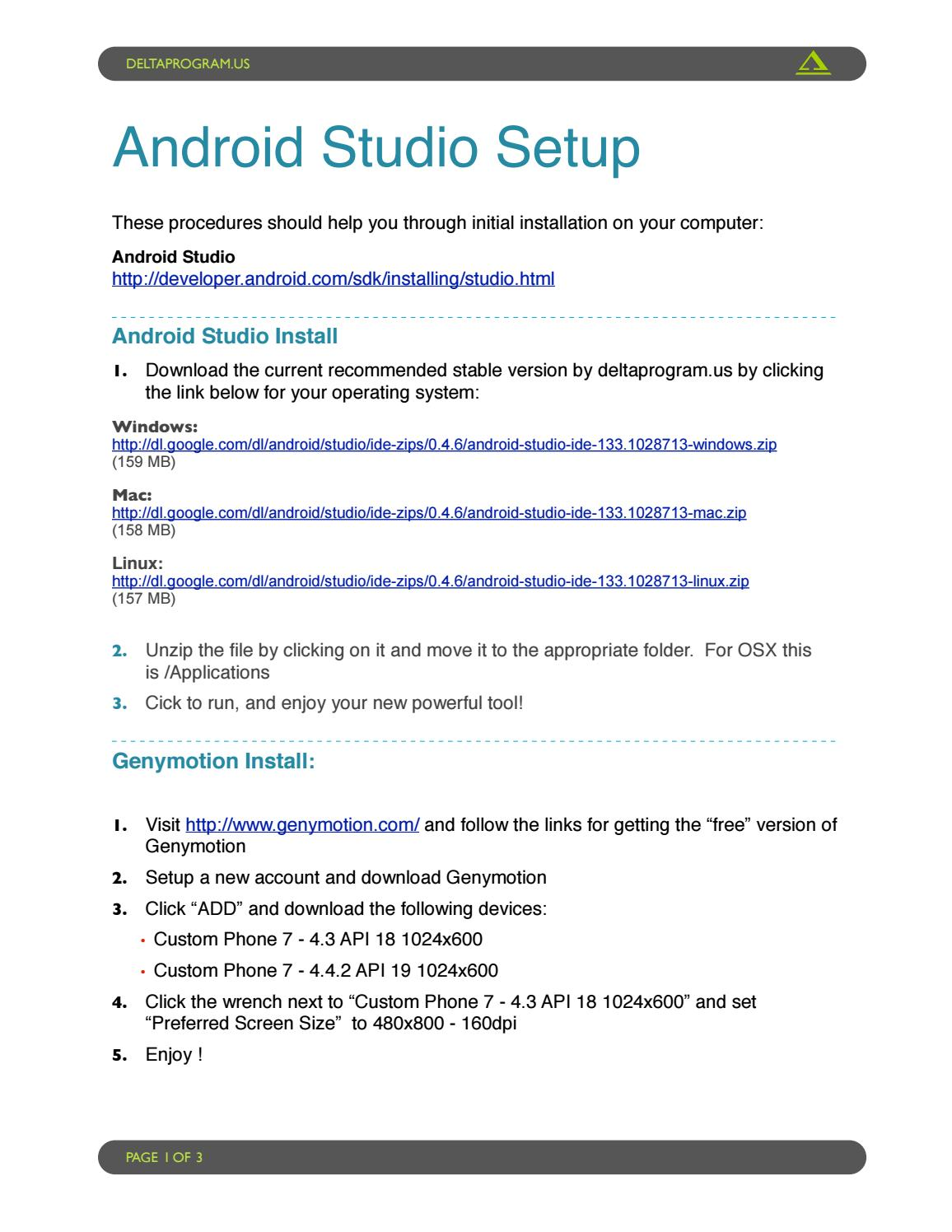 Android Sdk Manager For Linux