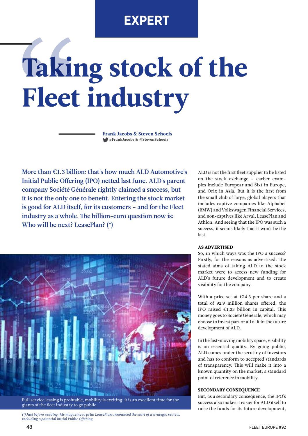 Fleet Europe °92 by Nexus Communication - issuu