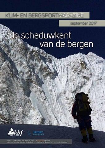 2303f1bd85c Klim en bergsportmagazine 2017 4 by Klim en Bergsportfederatie - issuu