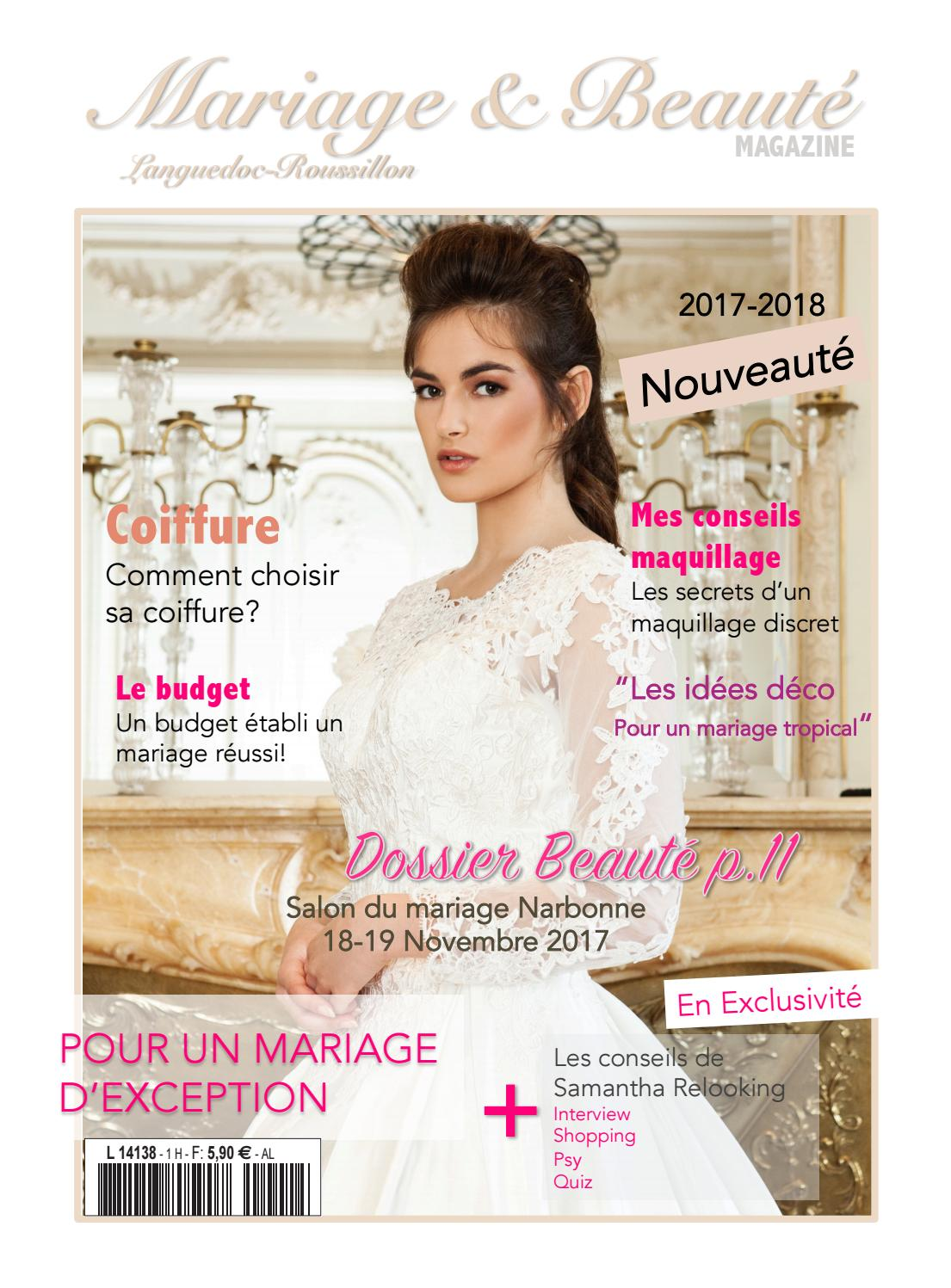 mariage beaut magazine by mariage beaut issuu. Black Bedroom Furniture Sets. Home Design Ideas