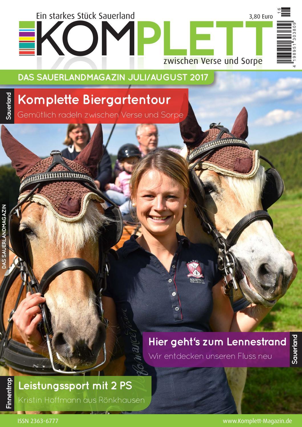 Komplett Das Sauerlandmagazin - die komplette Ausgabe Juli/August ...