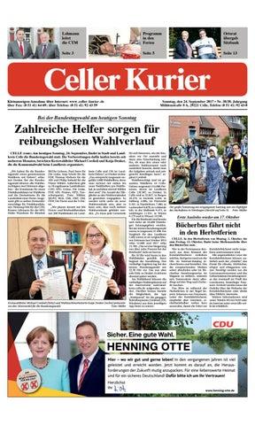 KW38 Celler Kurier Ausgabe Sonntag by Celler Kurier - issuu
