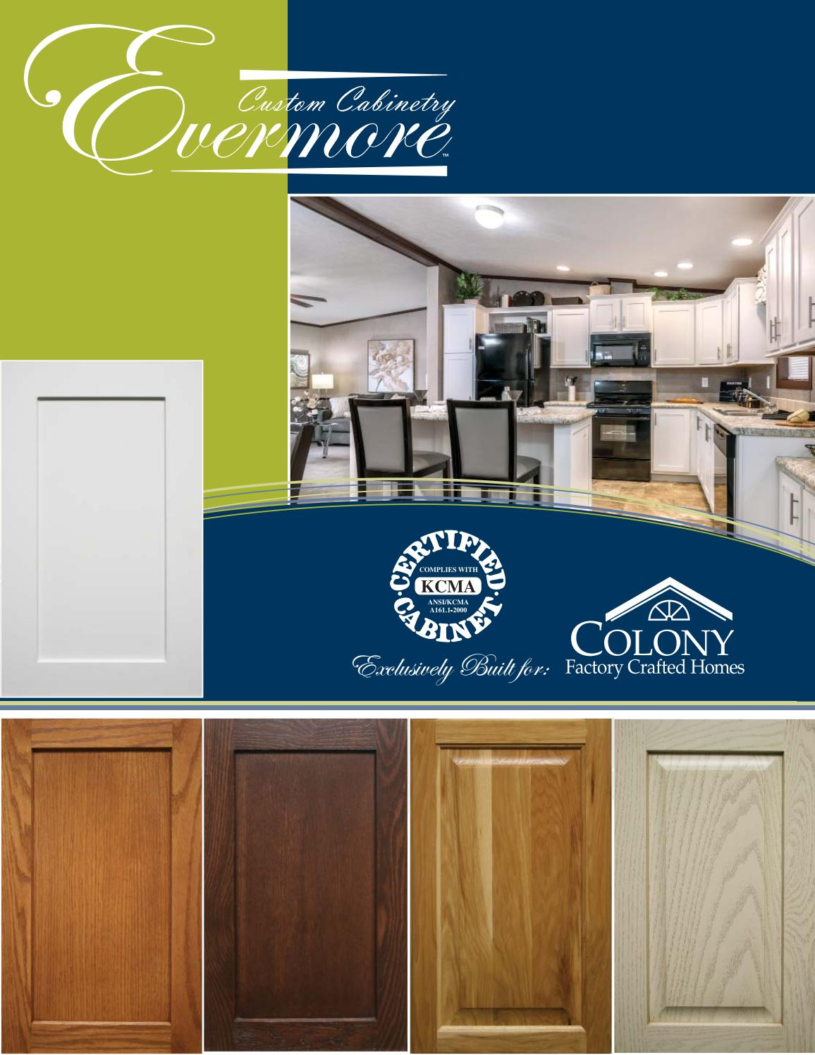 Colony Homes Evermore KCMA Cabinetry 2018 by The Commodore ...