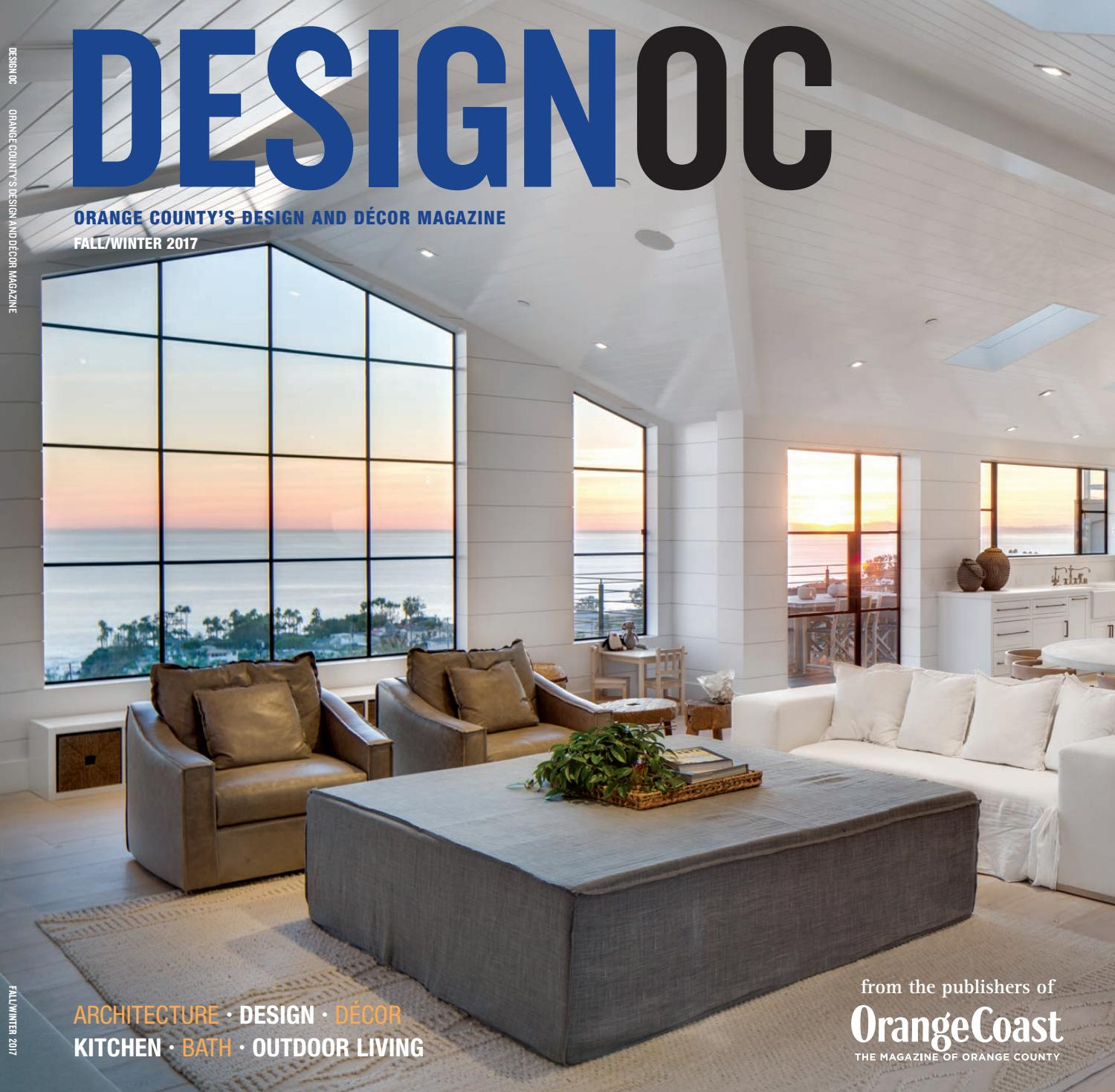 Kitchen Designer Orange County: Design OC Fall/Winter 2017 By Orange Coast Magazine