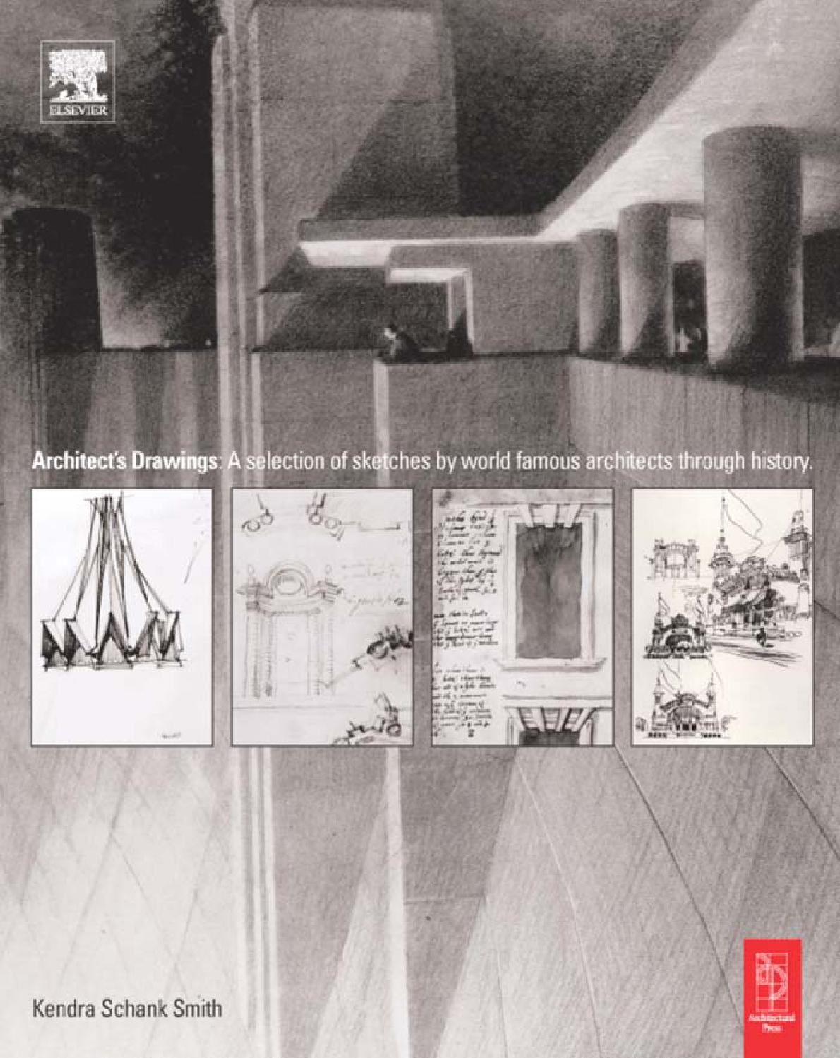 Architect drawings a selection of sketches by world famous architects through history by bluthize issuu