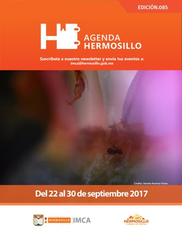 "Cover of ""Agenda Hermosillo 22 sep 2017"""