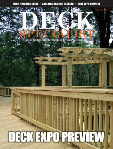 Deck Specialist Fall 2017 by 526 Media Group - issuu