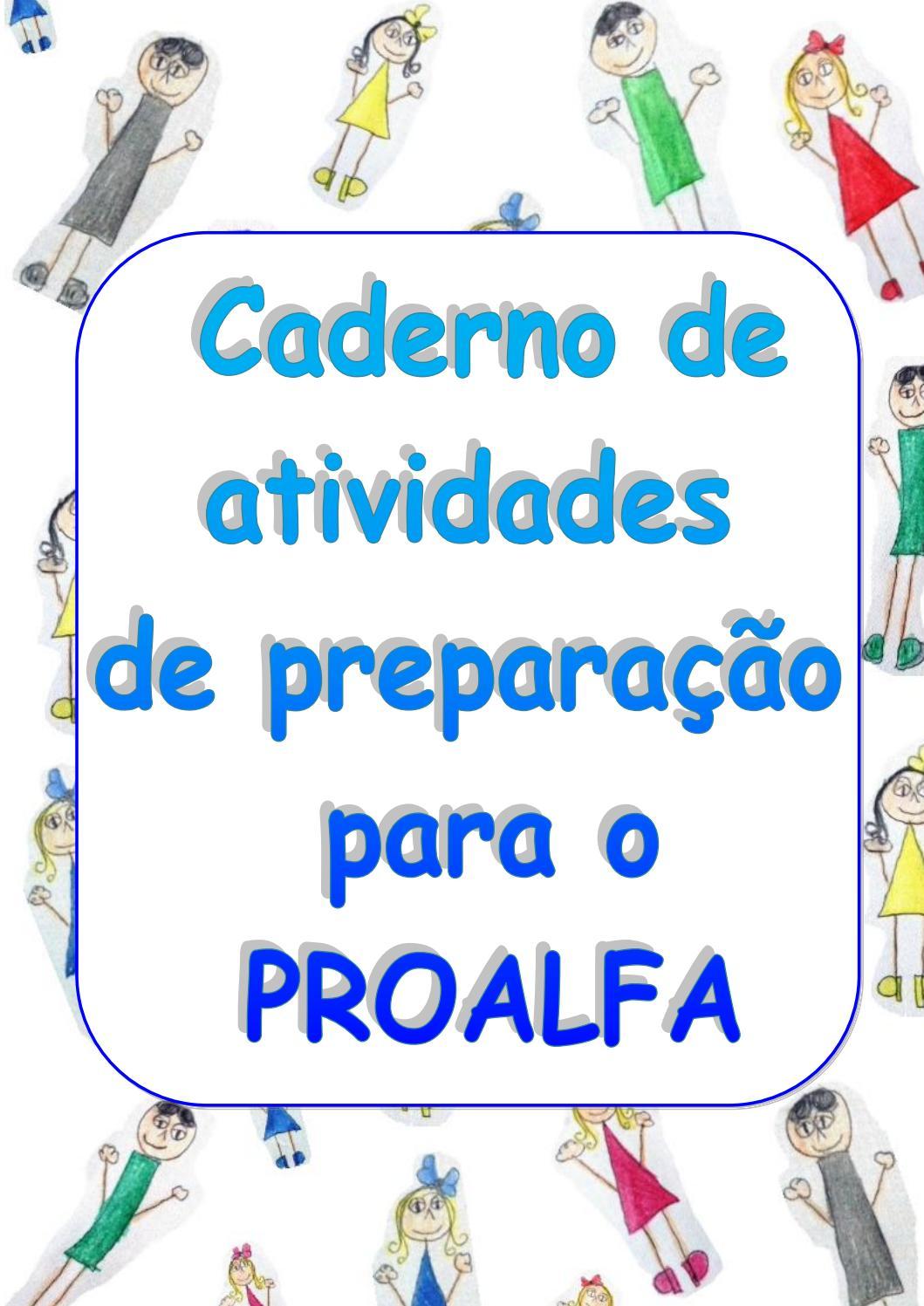 A Galinha Dos Ovo De Ouro Para Colorir caderno de atividades de preparação para o proalfa 2017