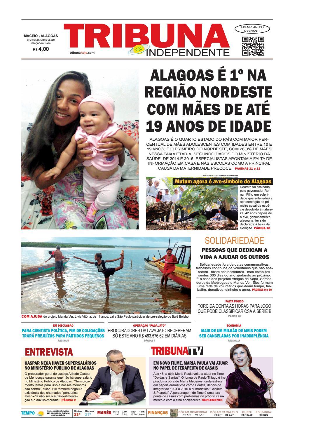 b5c44de752 Edição número 2989 - 23 e 24 de setembro de 2017 by Tribuna Hoje - issuu