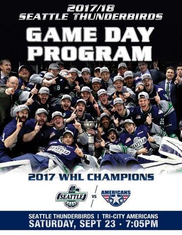 Digital Program vs. Tri-City Americans. The Game Day Digital Program for  the Seattle Thunderbirds home ... 819133515