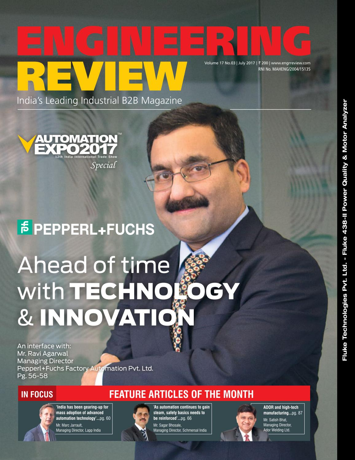 Engineering Review July 2017 by Divya Media Publications Pvt  Ltd
