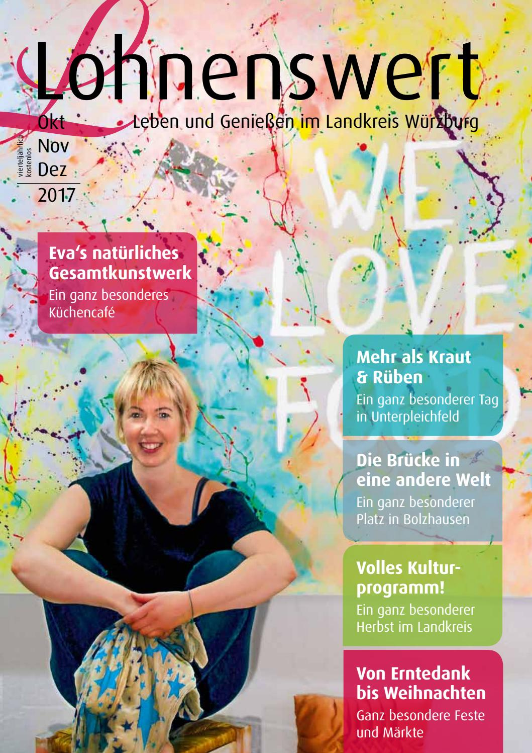 Lohnenswert Ausgabe 4 2017 by Lohnenswert - Leben und Genießen im ...