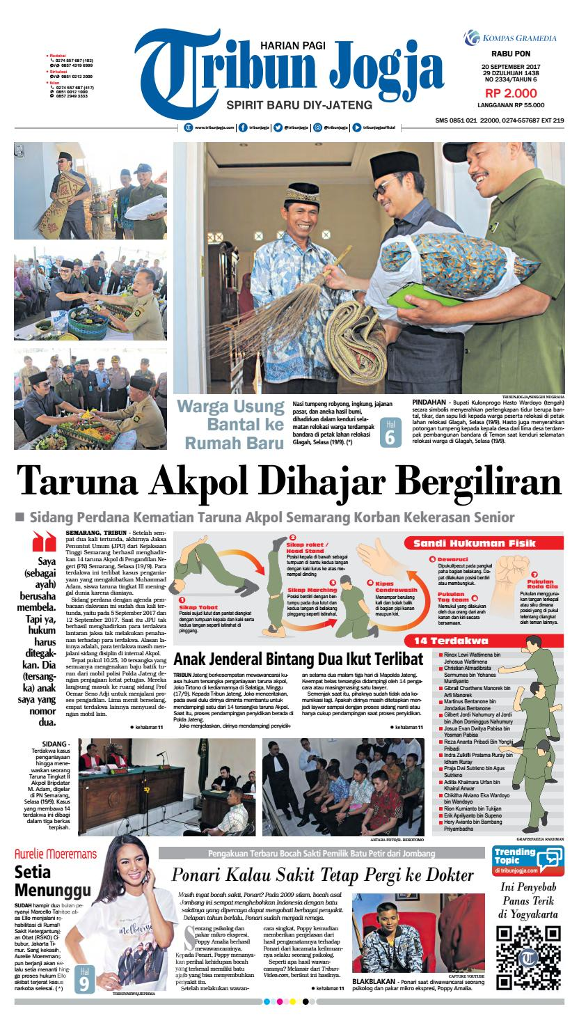 Tribunjogja 20 09 2017 By Tribun Jogja Issuu Produk Ukm Bumn Batik Tulis Warna Alam Ra Ampamp