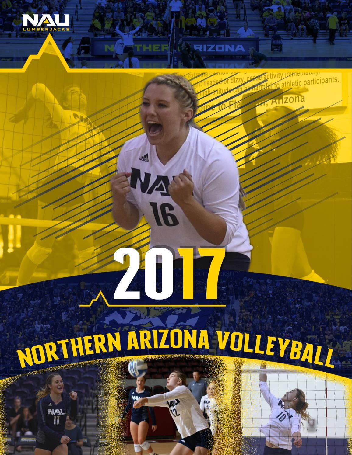 7dd637601ce6ff 2017 NAU Volleyball Media Guide by NAU Athletics - issuu