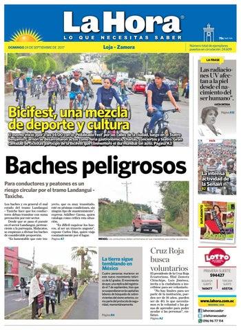2017 La Septiembre Ecuador Loja Diario 24 De By Hora 3lKJcTF1