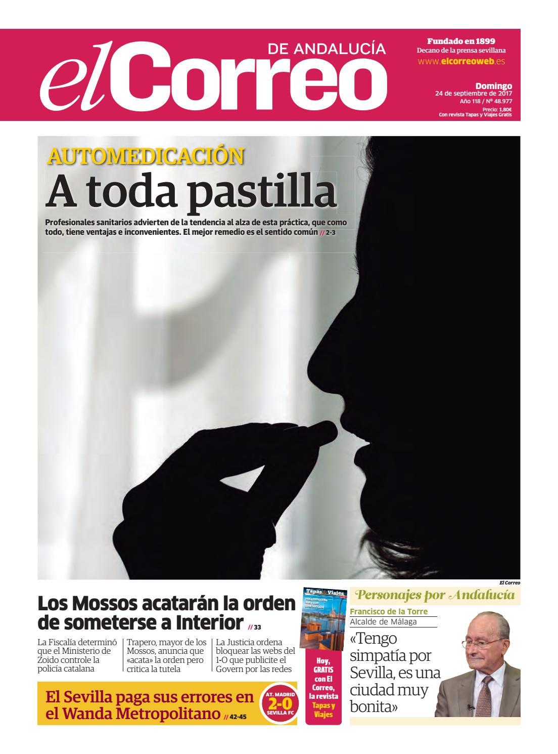 24.09.2017 El Correo de Andalucía by EL CORREO DE ANDALUCÍA S.L. - issuu db57a5b3467